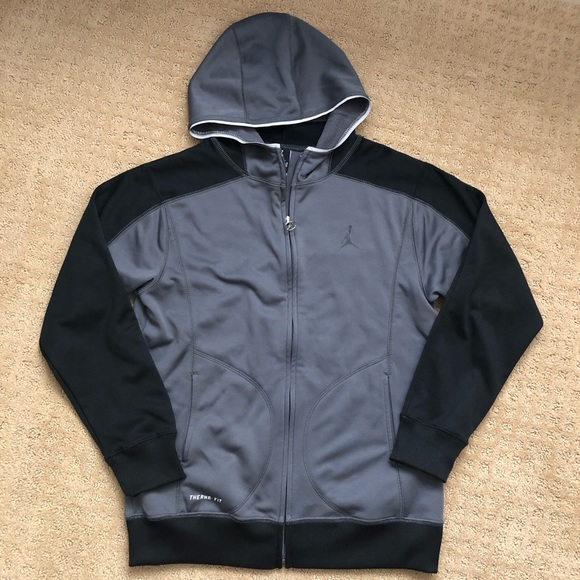 b3c7dda2ca0d Jordan Other - Nike Air Jordan boys hoodie jacket 12 13